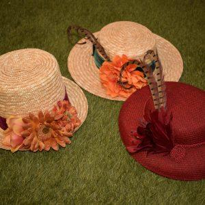 Sombreros y Canotiers